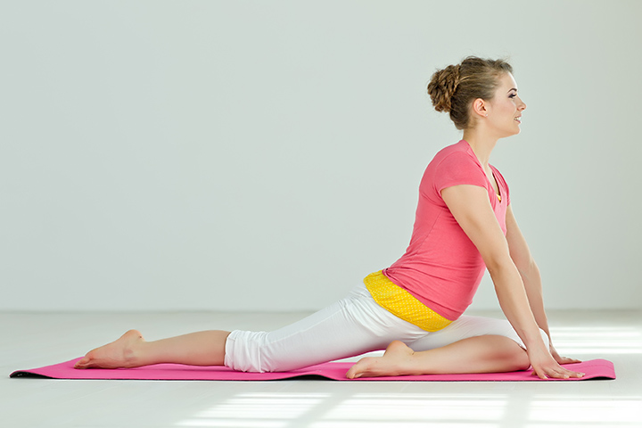 pigeon pose for hip pain