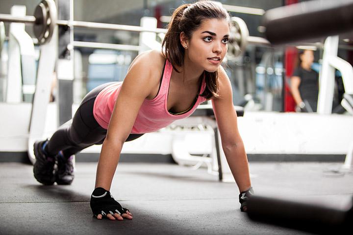push ups for armpit fat