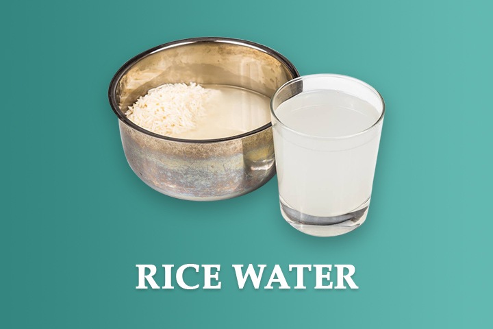 rice water for damaged hair
