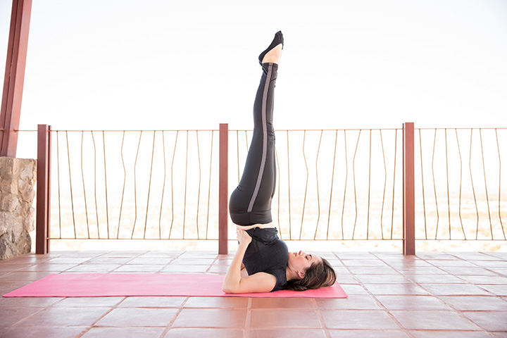shoulder stand for weight gain
