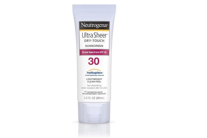 spf 30 sunscreen
