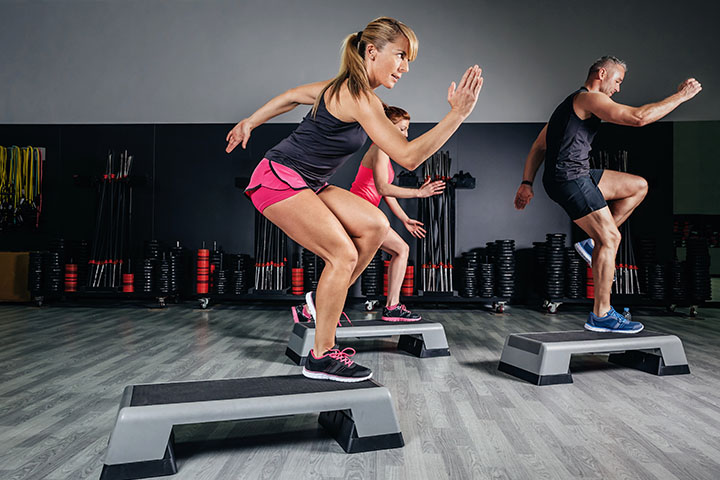 step ups for thigh fat
