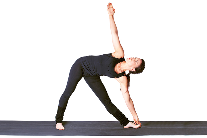 triangle pose to boost immunity