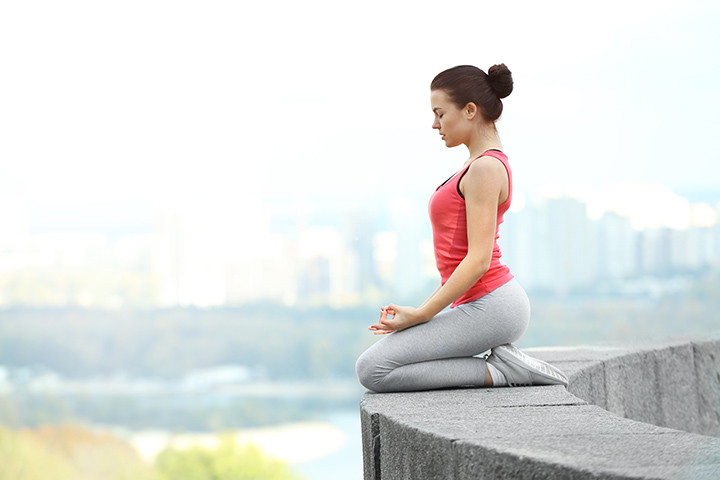 vajrasana for weight gain