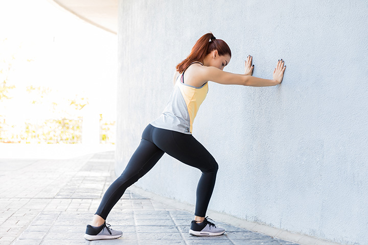 wall push ups tone arms