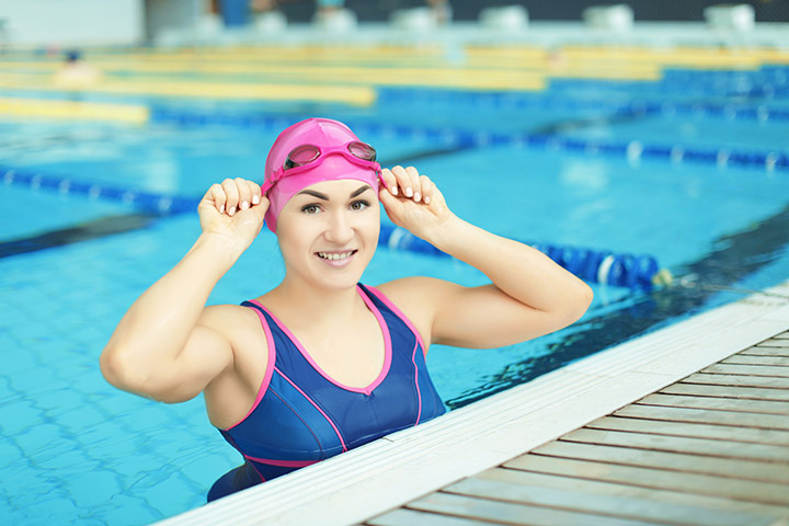 calorie burning for swimming
