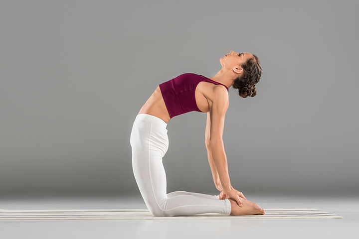 camel pose for inguinal hernia