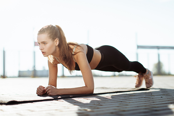plank for belly fat loss