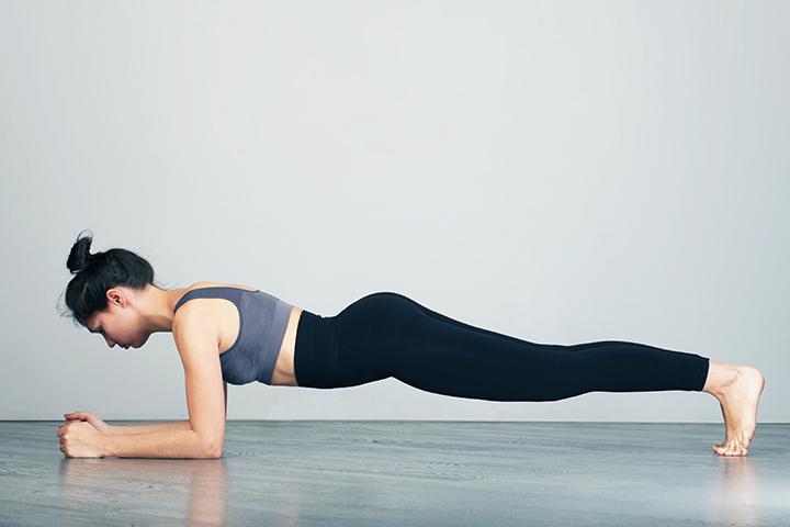 planks for burning fat