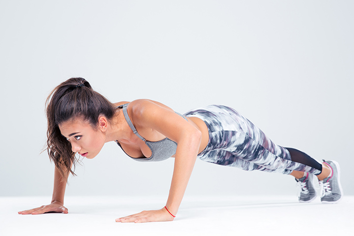 push ups for burning fat