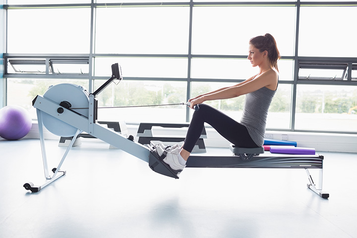 rowing for calorie burn