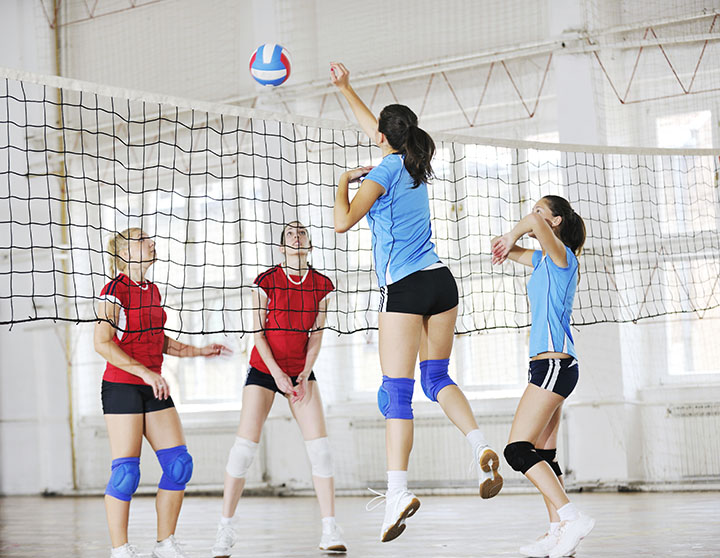 volleyball burning calories