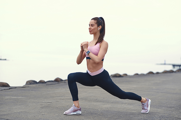 Lunges for metabolism