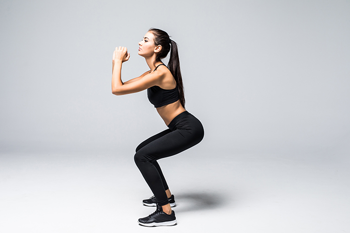 full squat exercise