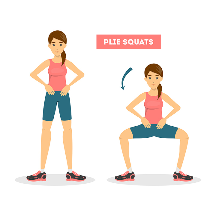 plie squats exercise