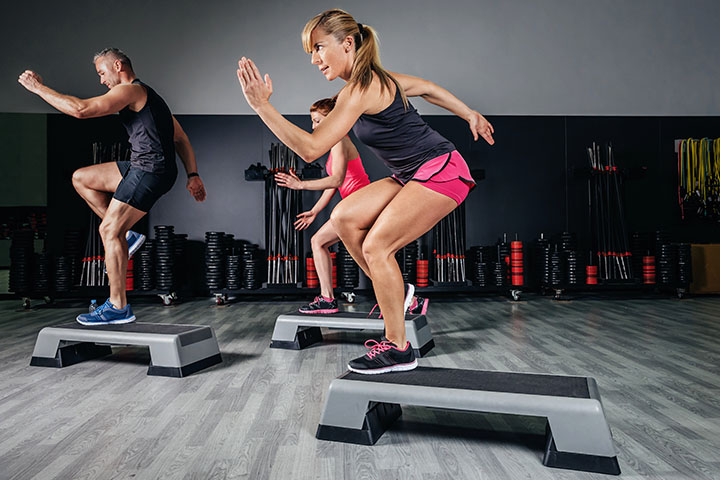 step ups exercise