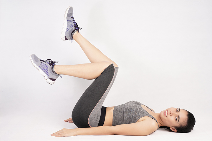 toe dips exercise