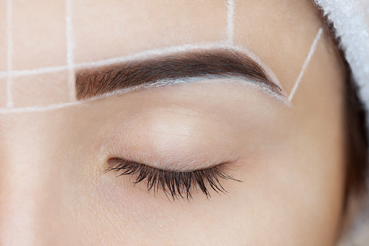 Determine the Brow Thickness