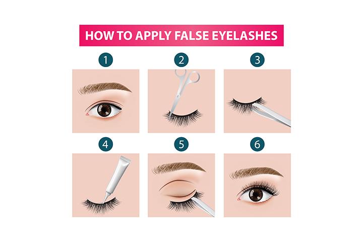 How to do False Eyelashes to Myself