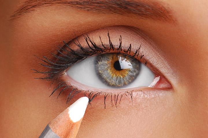Use a White Eyeliner