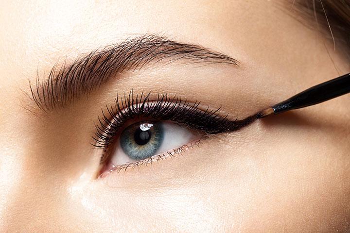 Using a Wrong Eye Liner Formula