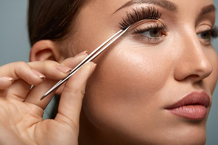 What do You Need for False Eyelashes