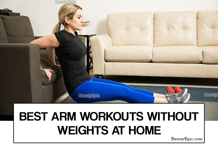 9 Simple Arm Workouts Without Weights You Can Do at Home