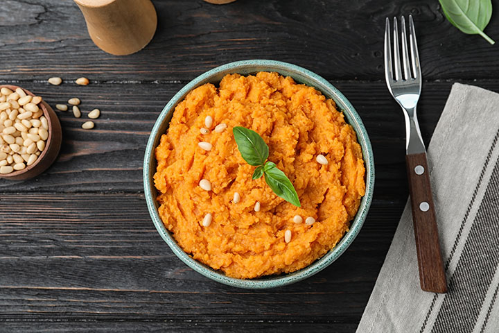 baked sweet potato with nuts weight loss