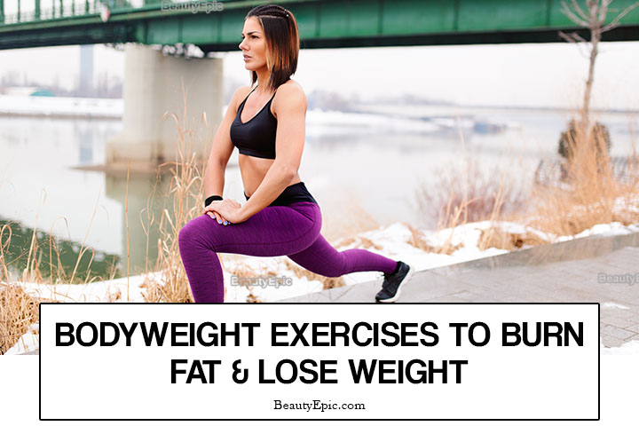 9 Best Bodyweight Exercises to Burn Fat & Lose Weight