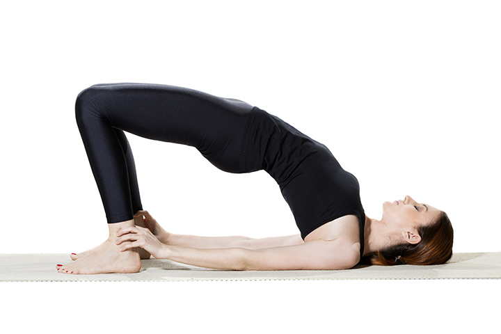 bridge pose for runners