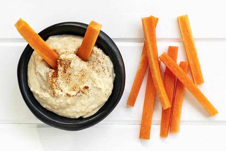 carrots and hummus weight loss