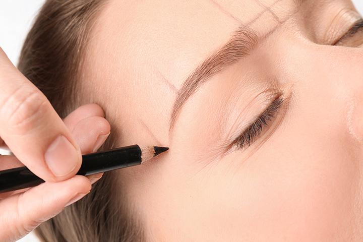 eyebrow pencil mistakes