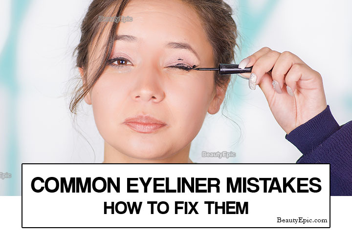 8 Common Eyeliner Mistakes and How to Redeem Yourself