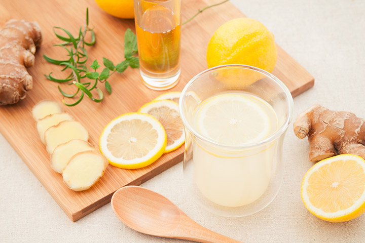 ginger lemon water for weight loss