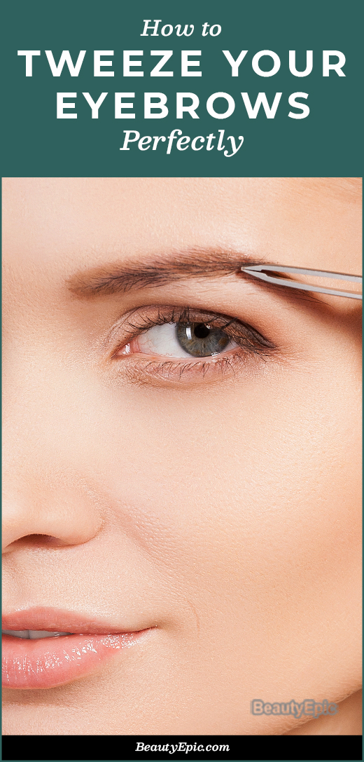 How To Tweeze Your Eyebrows Perfectly at Home?