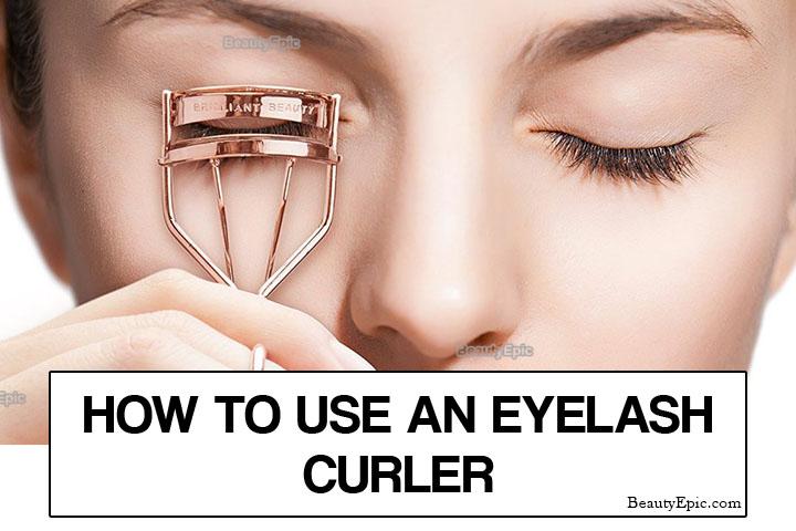 How to Use an Eyelash Curler Correctly?