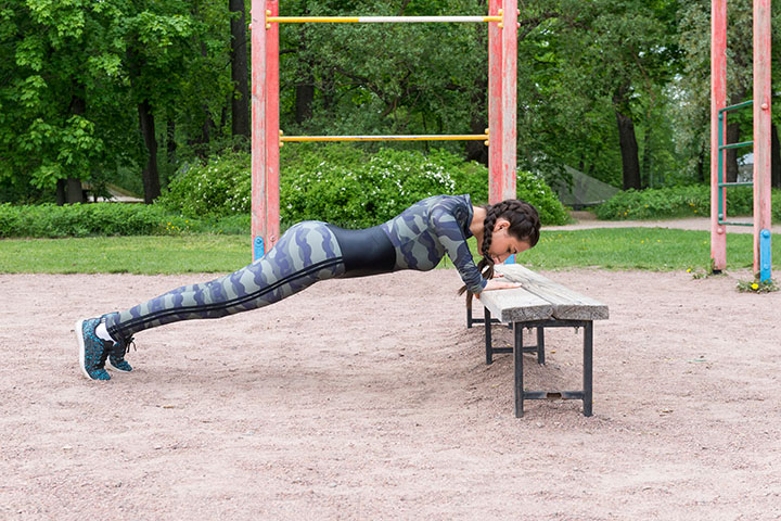 incline push-up for shoulders