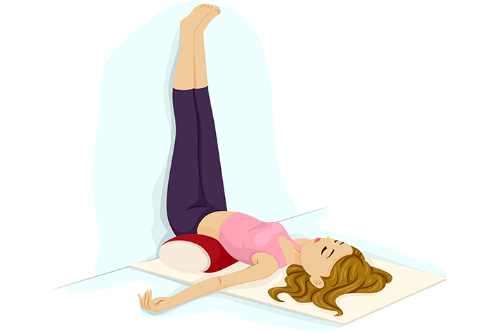 legs up the wall pose for varicose veins