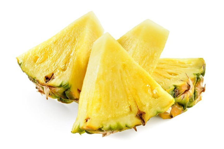 low carb snacks pineapple slices