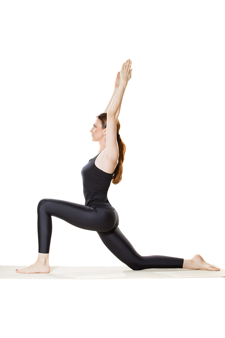low lunge pose for runners