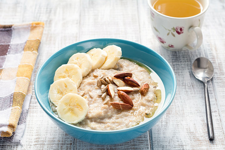 oatmeal with almond butter calories