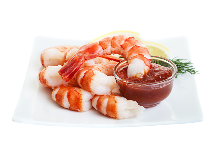 shrimp and cocktail sauce calories
