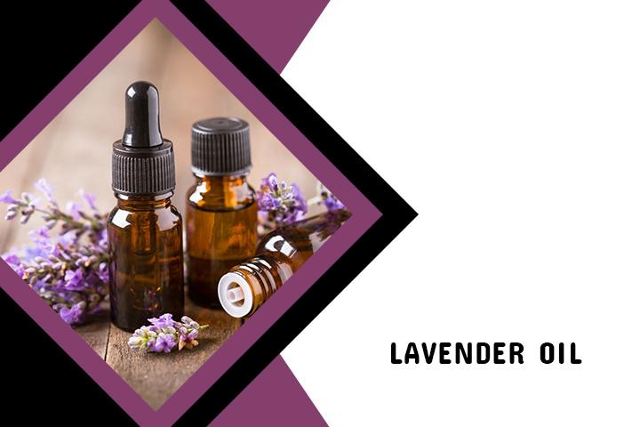 Lavender oil for Back Acne