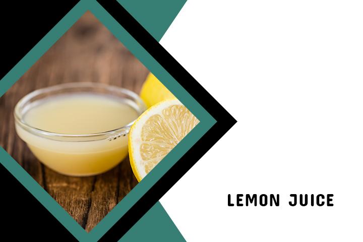 Lemon Juice for Back Acne