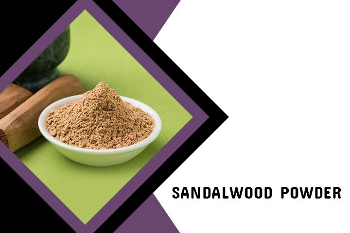 Sandalwood Powder for Back Acne
