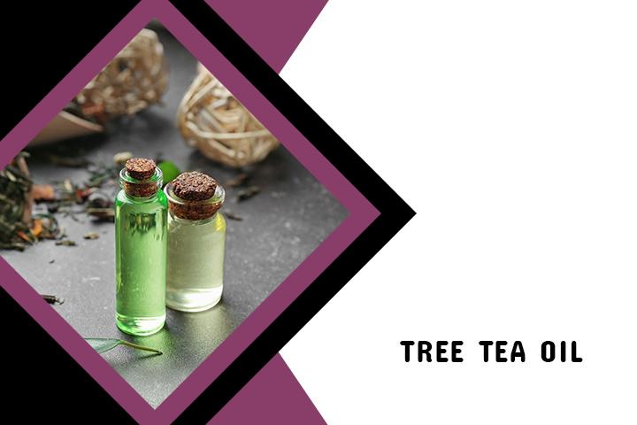 Tree Tea oil for Back Acne