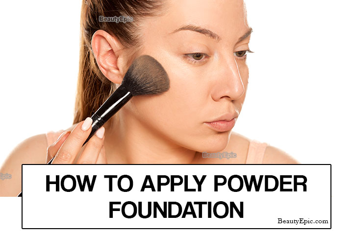 How to Apply Powder Foundation for Beginners?