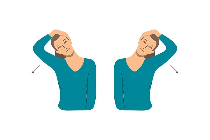 neck lateral flexion