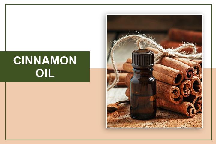Cinnamon oil for Lip Plumping
