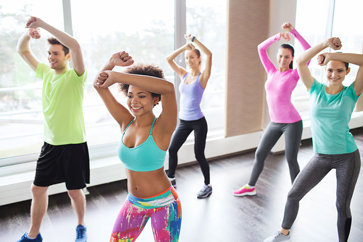 dancing for burning calories